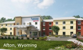 One-Night Stay at Fairfield Marriott 53 E 1st Ave in Afton, WY (Up to $129 Value)