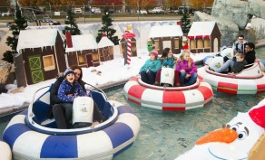 Admission to the North Pole at Seven Peaks Water Park Provo + $5 Punch Card ($15 Value)